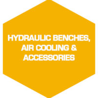 Hydraulic benches, air cooling & accessories