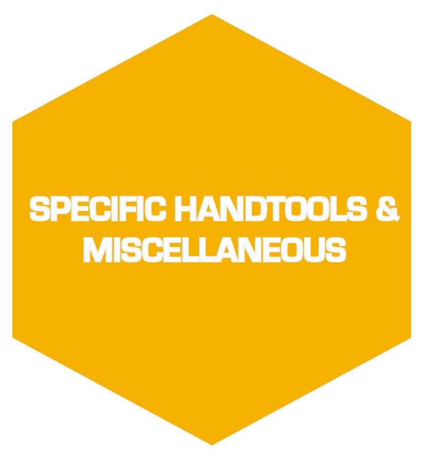 Specific handtools & Miscellaneous